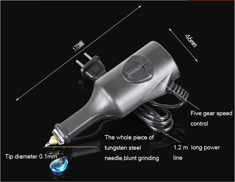 220V Electric Tools Electric Hand Writing Pen On Metal Parts Electric Engraver Pen; Free Shipping