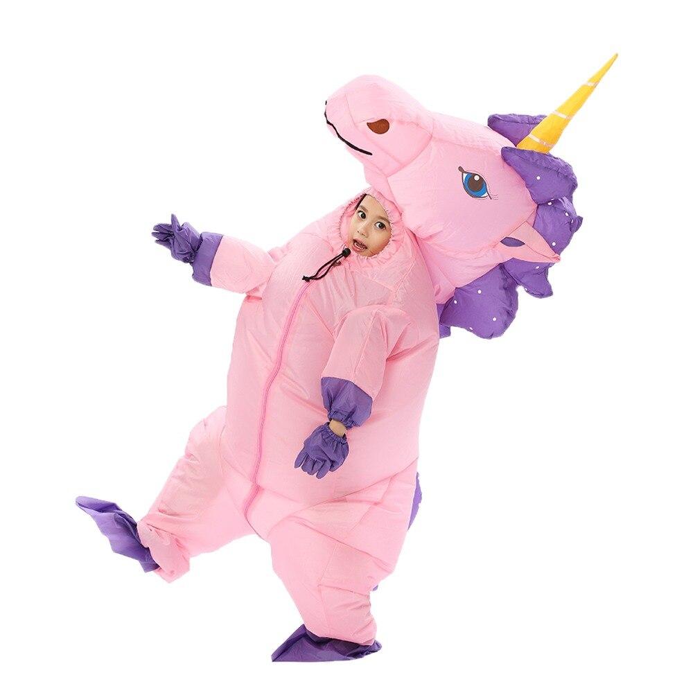 Petit poney Costume gonflable unisexe adulte et enfant noël Helloween fête fantaisie spectacle