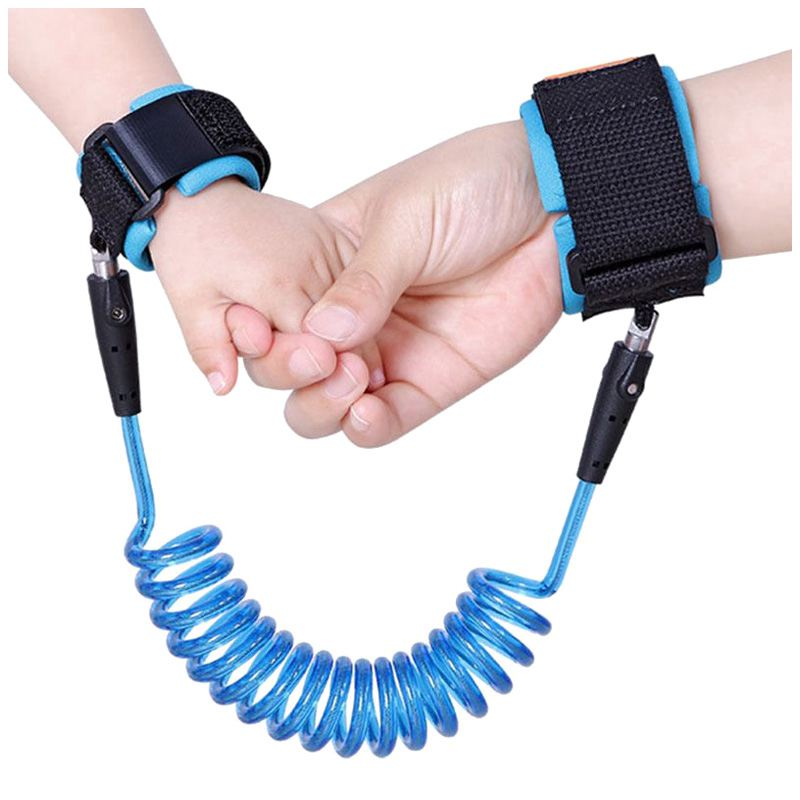 Child Wrist Leash Baby Safety Walking Harness Anti Lost Adjustable Traction Rope Reminde ...