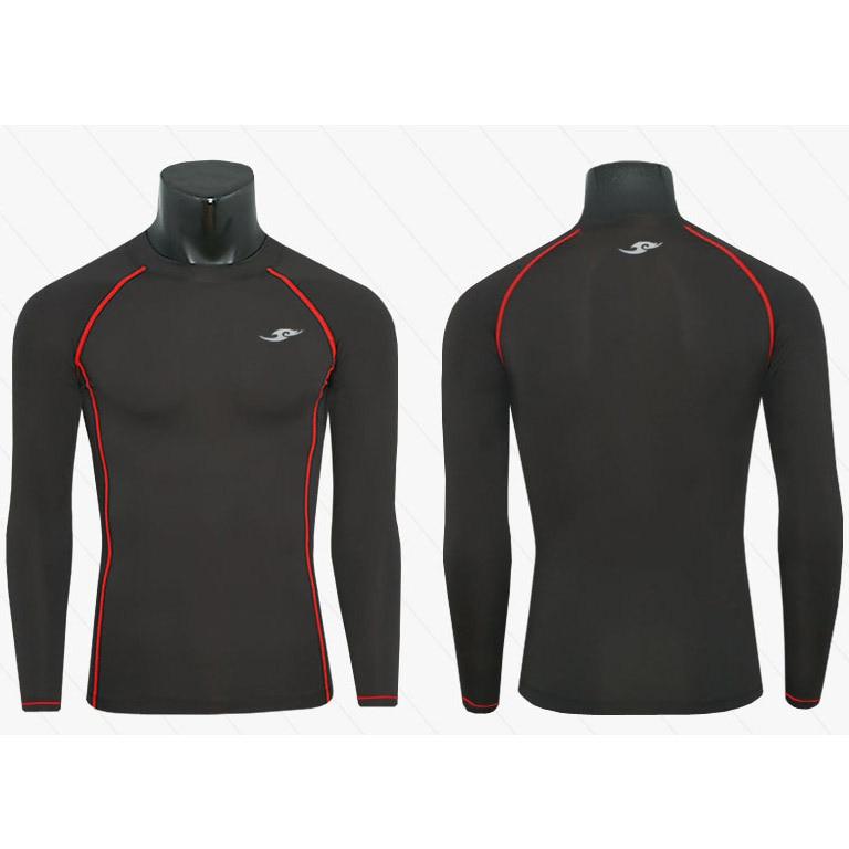 3 Farbe Wolke Marke Mens Compression T-Shirts Base Layers Langarm - Herrenbekleidung - Foto 5