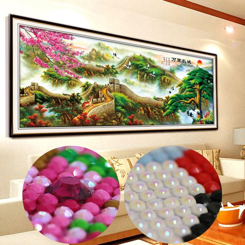 special Diamond Mosaic Cross Stitch Kits pearls Diamond Embroidery Scenery Diy Diamond Painting 5d Home Decoration