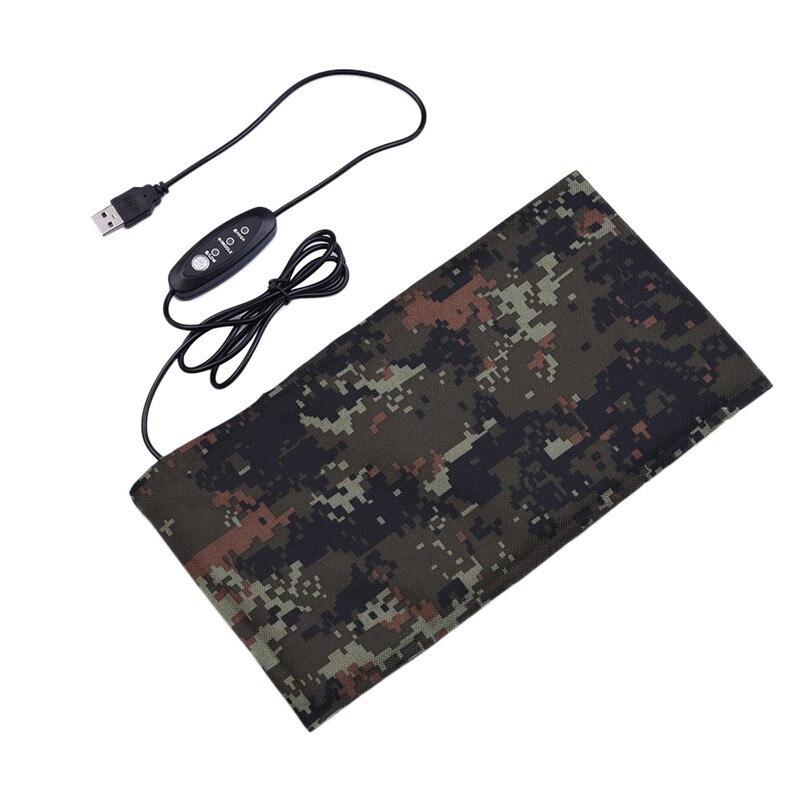 Reptil USB Schnelle Heizkissen Wasserdicht Biegsamen Kohlefaser Warmer Bett-matten-auflage Einstellbare Temperatur Drop Shipping