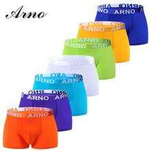 ARNO Brand Mens Dresses Underwear Shorts Men Breathable Viscose Solid Boxers Business 5 Color,MTU50906-5