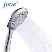 Jooe стороны провести Насадки для душа 30% экономии воды 300% высокое Давление 5 Функции ABS Chrome Аксессуары для ванной комнаты Спецодежда медицинская насадкой