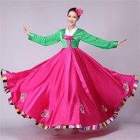 korean traditional dress hanbok korean national costume asian clothing korean costumes wedding dress folk dance costumes