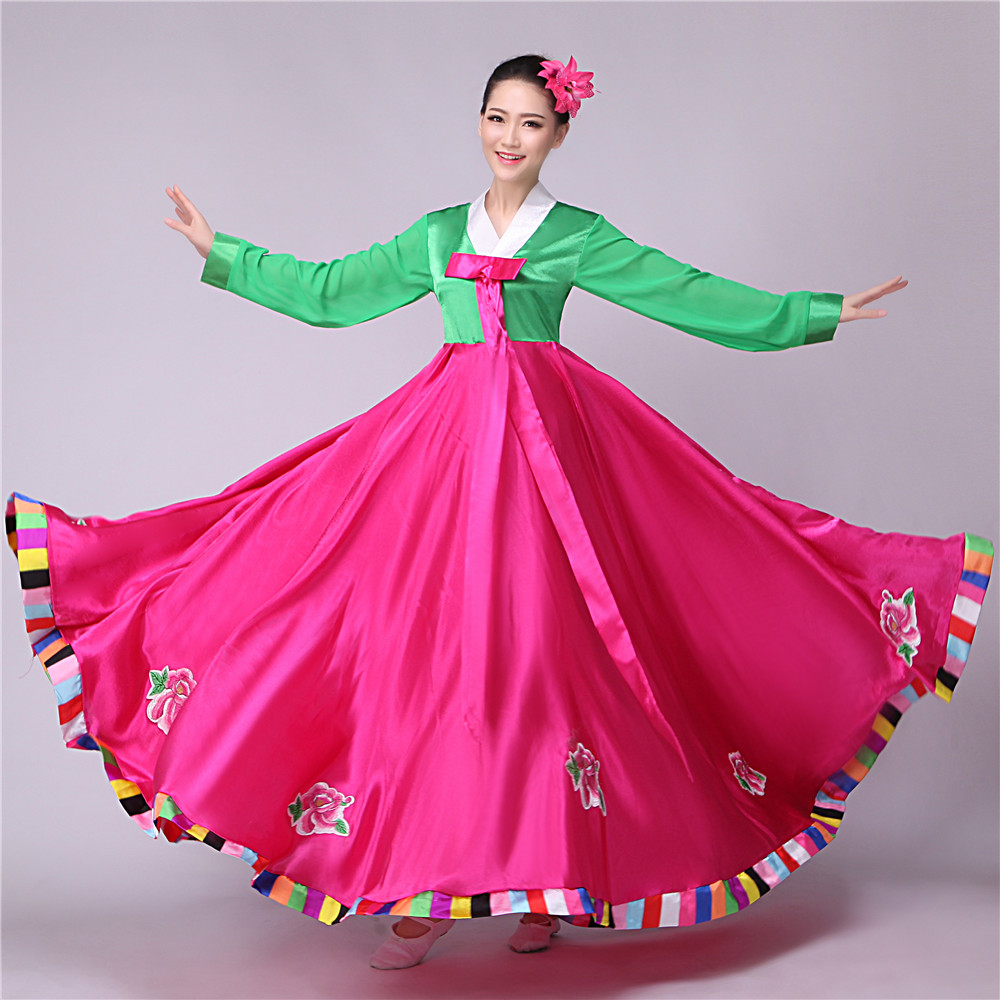 Korean Traditional Dress Hanbok Korean National Costume Asian Clothing Korean Costumes Wedding ...