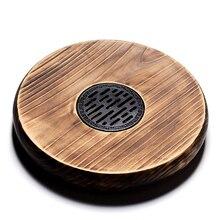 Огонь из цельного дерева море птиц камень Чай столик Кунг Фу Чай блюдце из Ke Wood Чай лоток Высокое качество Чай набор