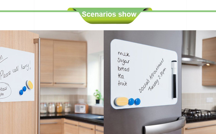 Kühlschrank Whiteboard : A größe magnetischen bord weiche whiteboard flexible magnet blatt
