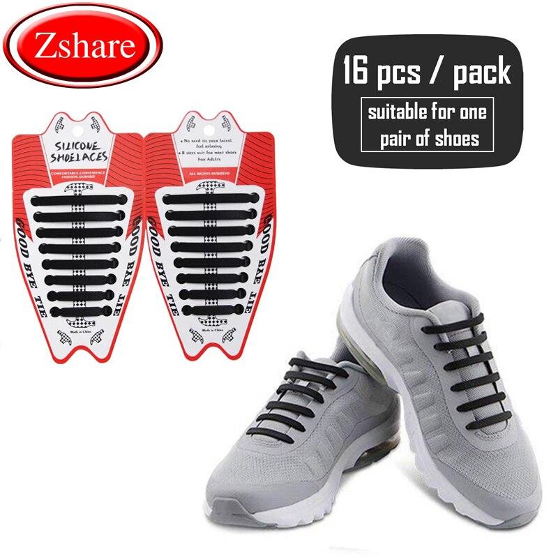 1//5 Pairs 120cm No Tie Shoelaces Elastic Lazy Shoe Laces with Reflective Strip