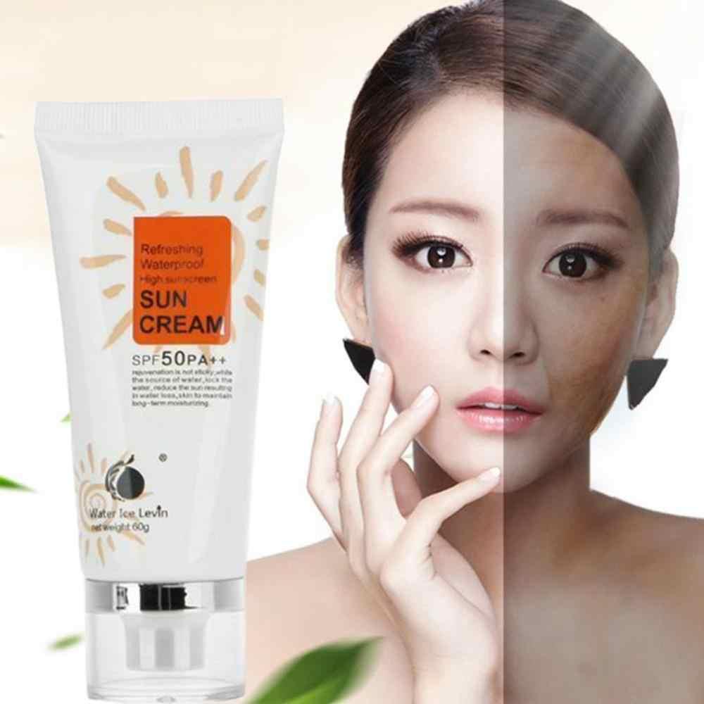 Водонепроницаемые солнцезащитные кремы для лица, солнцезащитный лосьон SPF 50 PA + +, изолирующий УФ солнцезащитный крем для тела, Солнцезащитный консилер, красота, уход за кожей