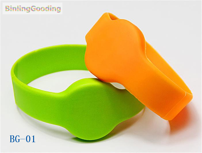 BG-01 100PCS/LOT 13.56mhz MF Classic 1K S50 F08 NFC Wristband Bracelet IC Card For Swimming Pool Sauna Room GYM bg 02 100pcs lot 13 56mhz mf classic 1k s50 f08 nfc wristband bracelet ic card for swimming pool sauna room gym