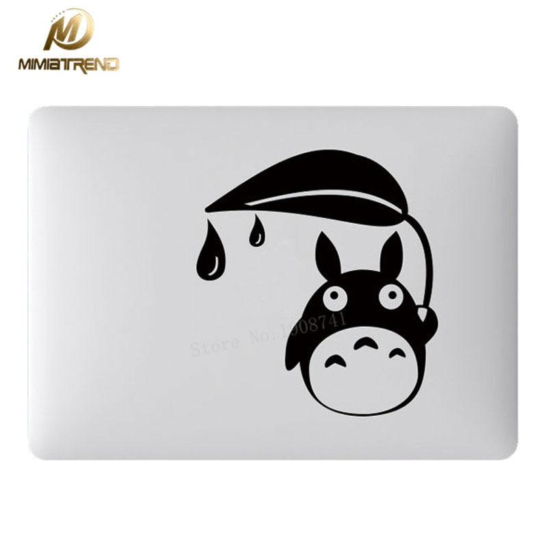 Vati Leaves Removable Cute Cartoon Disney Come Mickey Vinyl Decal Sticker Skin Art Black for Apple Macbook Pro Air Mac 13 15 inch//Unibody 13 15 Inch Laptop