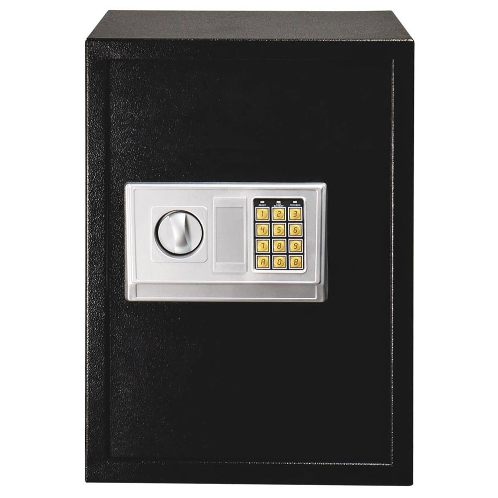 Домашняя Электронная Копилка, сейф, копилка с замком для ключей, цифровой код, кодовый ящик, ювелирный пистолет, секретная коробка 35*30*50 см SKU64761523