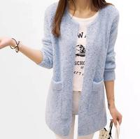 6 Colors Women Winter Sweaters Cardigans Long Sleeve Fashion Knitted Tops Sweaters Female Tricot Women Clothes