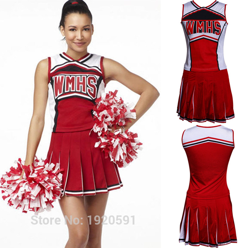 S Xxl New High School Cheer Musical Glee Cosplay -7149
