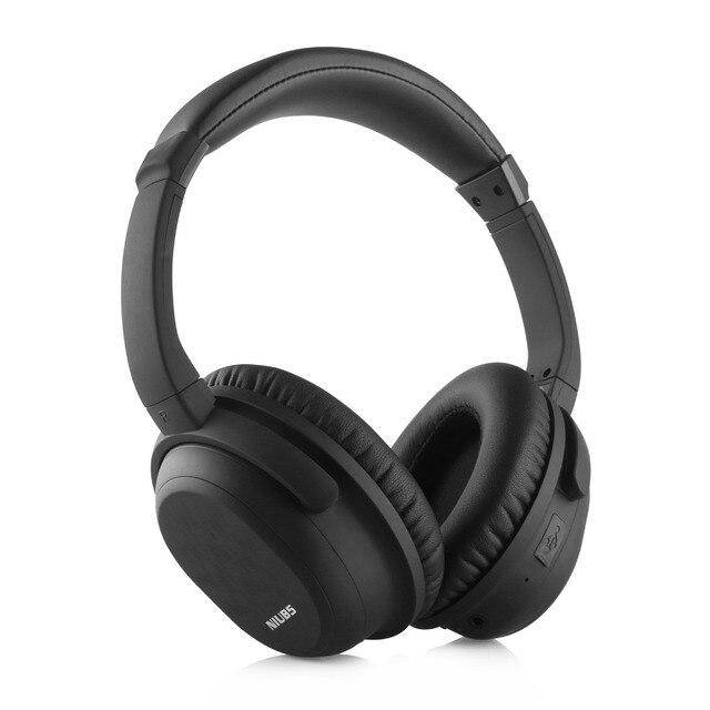 Активного Шумоподавления гарнитура bluetooth к телефону NiUB5 Deadpool CSR4.0 АНК беспроводные наушники светящиеся HiFi Bass bluetooth headset для телефона айфона