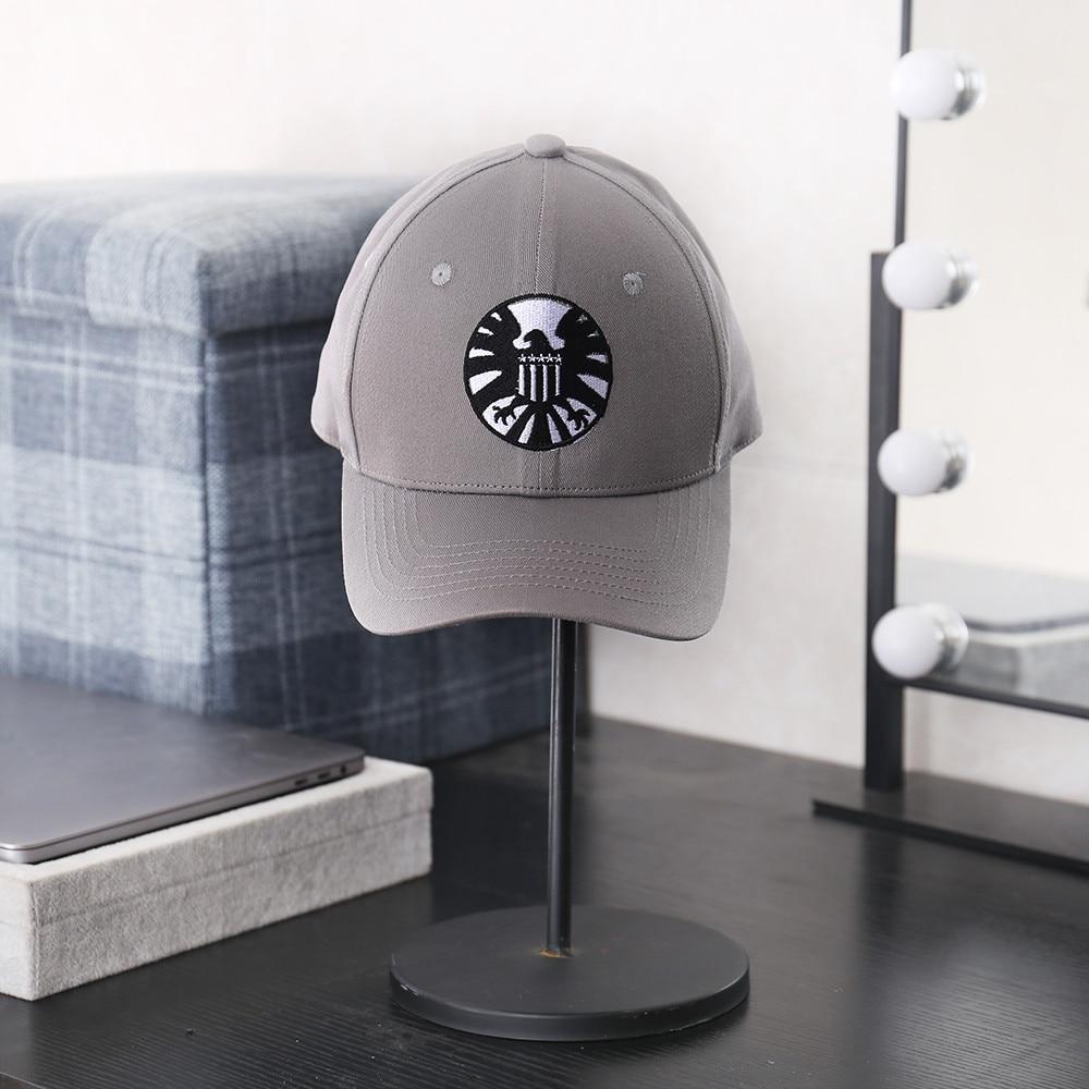 Apparel Accessories Captain Marvel Hat Carol Danvers Cap Agents Of Shield Adjustable Hip Hop Sun Hats Snapback Caps Embroidery Visor