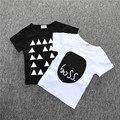 2016 Menino T-shirt Cruz marca de roupas infantis meninos T-shirt do bebê dos meninos das crianças roupas de bebê Crianças usam Camisetas CS073