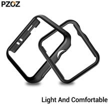 PZOZ для apple watch 5 4, защитный чехол, серия 40 мм, 44 мм, для apple watch 3, 2, 1, чехол, 38 мм, 42 мм, защита экрана, ультратонкий