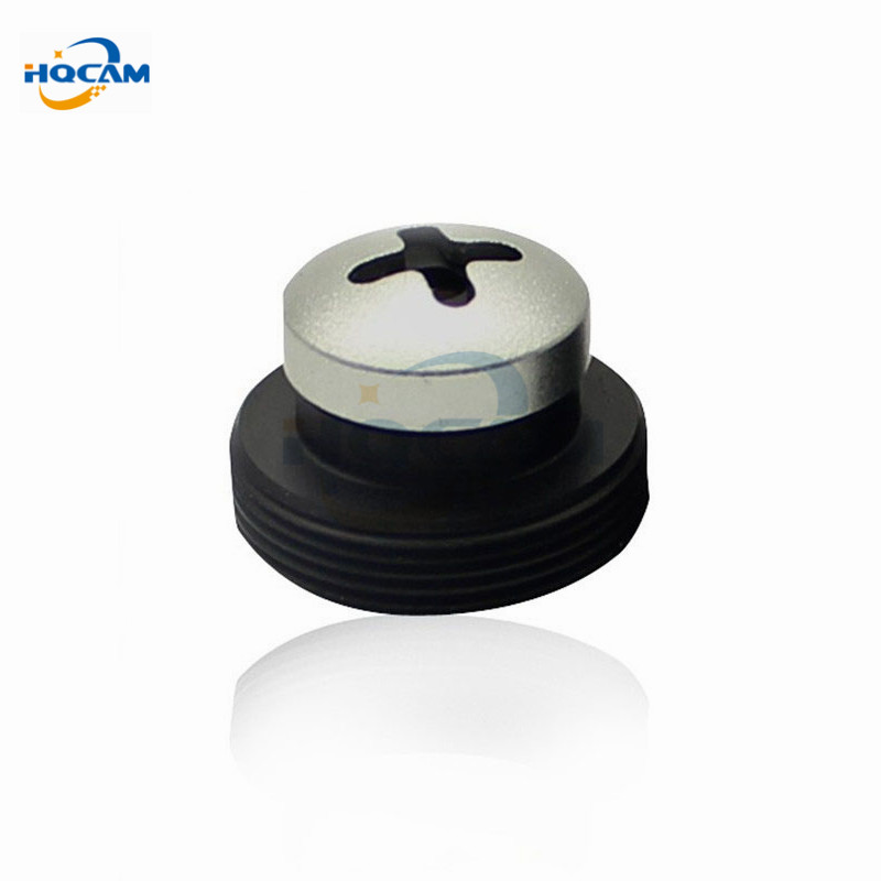 HQCAM Metal white screw 3.7mm lens Screw Board Lens 80 Degrees For CCTV Security Camera Free Shipping of M12x0.5 free shipping universal metal white wall mount stand bracket for cctv security camera