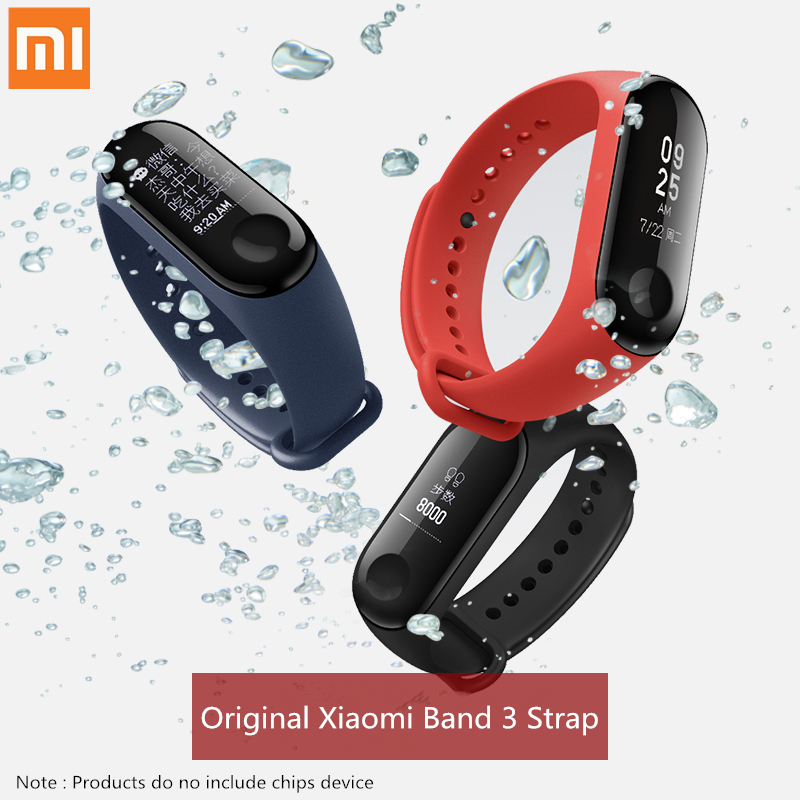 Original Xiaomi Silicone Replacement Wristband Bracelet Watchband For Xiaomi Mi Band Miband 3 Band3 Wrist Strap Charge Cable цены онлайн