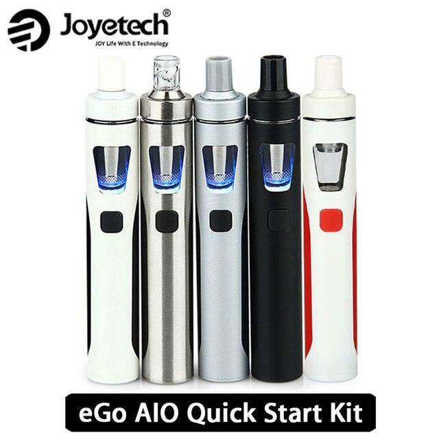 Оригинал Joyetech эго AIO Vape комплект все-в-одном Starter Kit w/2 мл распылитель и 1500 мАч Батарея эго aio электронная сигарета Kit vs ijust s