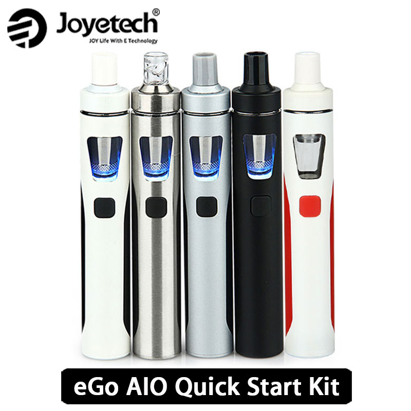 Original Joyetech eGo AIO Vape Kit All-in-One Starter Kit w/2 ml zerstäuber & 1500 mah Batterie eGo aio e Zigarette Kit vs ijust s