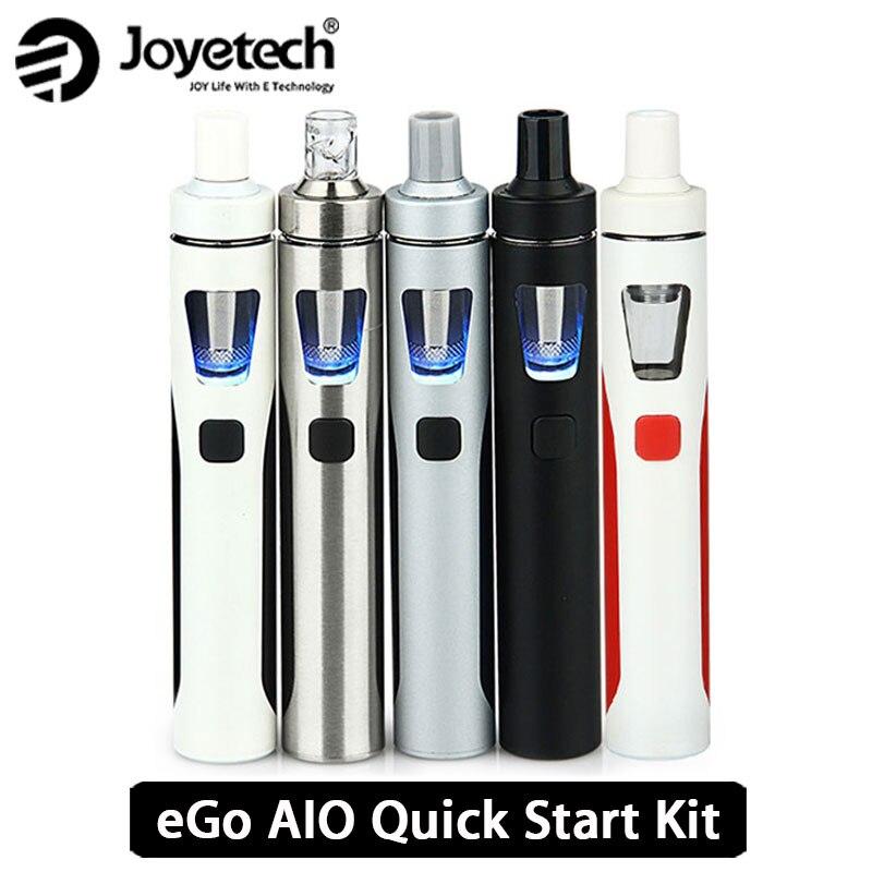 Original joyetech ego AIO vape kit todo-en-uno Starter Kit W/2 ml atomizador y 1500 mah batería ego electrónico e CIG vs ijust S