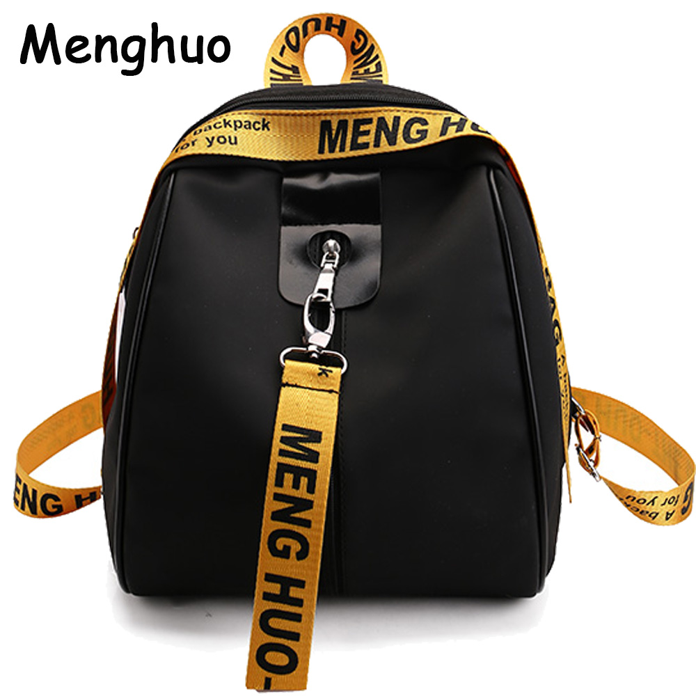 2017NEW Fashion Colorful Ribbons Backpack Korean Women Backpack Leisure Student School bag Women Bag Travel Bag Mochila Hot Sell