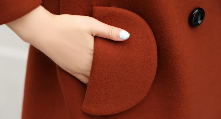 Cultiver Moralité La Sa Rouge bourgogne Cachemire Le M 2xl De Section Épais Mode Nizi Vert corail Chaude Dans Femmes Printemps Nouvelle Longue Manteau 2019 0SwZSzqF