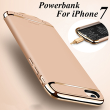 Ultra Slim 3000mAh External Backup Battery Case Power Bank Case Cover for iPhone 7 Plus 6 6S Plus Mobile Phone Charger Case
