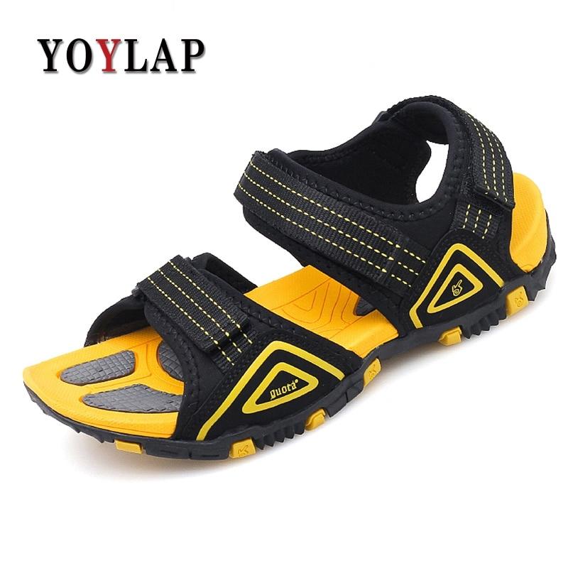 Yoylap Fashion Men Beach Sandals Breathable Summer Outdoor Men Sandals Buty Meskie Calcados