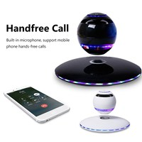 Wireless Levitation Bluetooth Globe Speaker 360 Degree Stereo Player LED Subwoofer