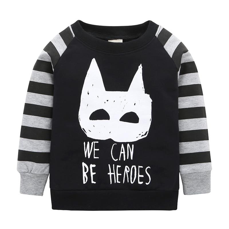 2018 Rushed Unisex 2018kikikids Baby Boys& Hot Selling Long Sleeves Cute Panda Pattern Sweatshirts Children Kids Cotton Hoodies