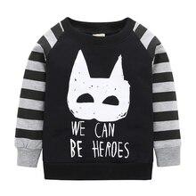 2019 Rushed Unisex 2019kikikids Baby Boys Hot Selling Long Sleeves Cute Panda Pattern Sweatshirts Children Kids