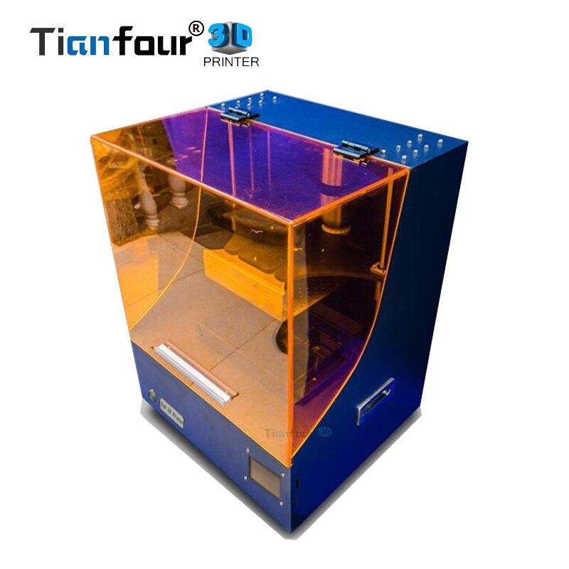 Tianfour new Super KingKong SLA/DLP/LCD 3d stampante più grande il volume di stampa 200*170*280mm di alta precisione Impresora 450nm UV resina