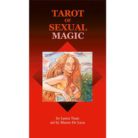 High Quality 78+2pcs 100% Original English version Tarot of Sexual Magic cards set board game