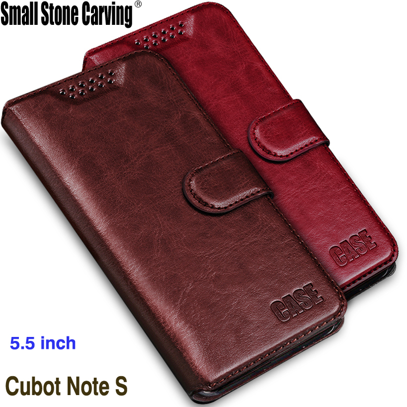 Fundas för Cubot Note S-fodral 5.5 Lyxig original PU-läderfodral - Reservdelar och tillbehör för mobiltelefoner - Foto 1
