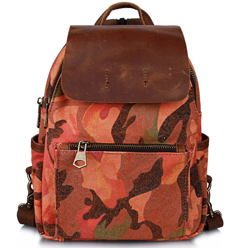 retro rua tendência mochila bolsa Lining Texture : Polyester Fiber