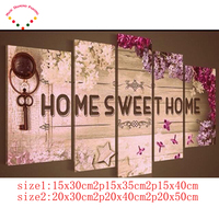 Sweet Home Photo Decor Full 5D Classical Diamond Drawing Diy Painting Mosaic Drill Resin Embroidery Needlework