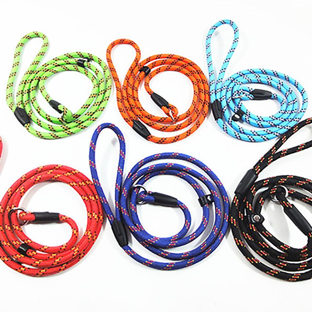Nylon Dog Collars Leads Long Training Pet Lead Rope  Strong Puppy Leash Cat dog noose Walking Products