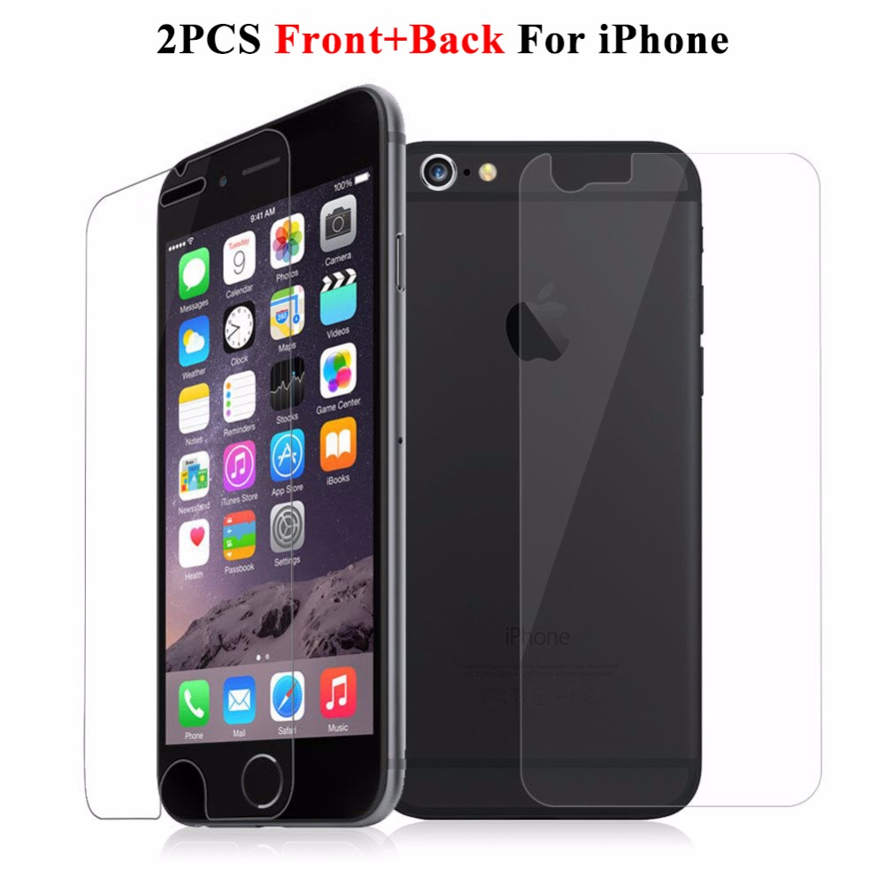 Iphone S Plus Screen Protector Front And Back