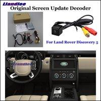 Liandlee Автомобильная оригинальная система обновления экрана для Land Rover Дискавери 5 задний реверс парковочная камера цифровой декодер дисплей