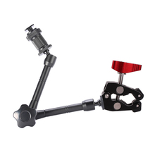 Super Clamp 11/7 Inch Articulated Magic Arm for Mounting Monitor LED Light LCD Video Flash DSLR Camera Photo studio Accessory