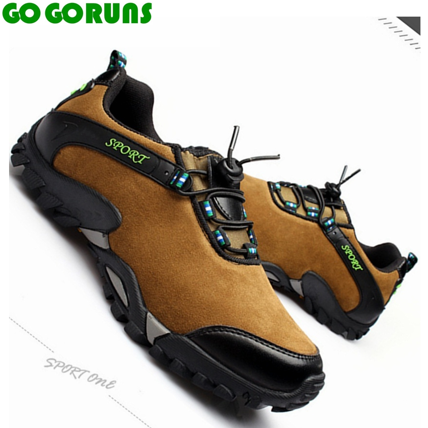 outdoor sport men hiking shoes mountain climbing boots breathable genuine leather trekking winter hiking shoes men sneakers 384b men mountain climbing shoes non slip trekking boots male hiking shoes genuine leather outdoor men shoes tactical shoes sneakers