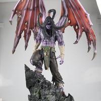 Высококачественный большой 61 см мир зверь Demon Hunter Иллиданом Игровых персонажей фигурку игрушки коллекция Edition