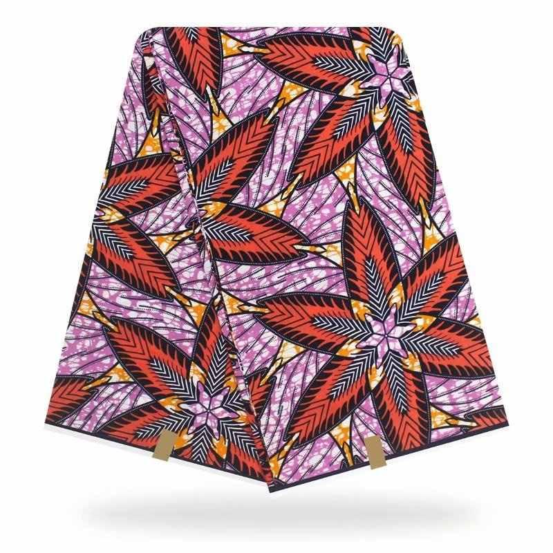 Nieuwste 100% Katoen Afrikaanse Stof Wax Stijl Real 6 Yard/Lot Ankara Soft Dashiki Nieuwe Materiaal