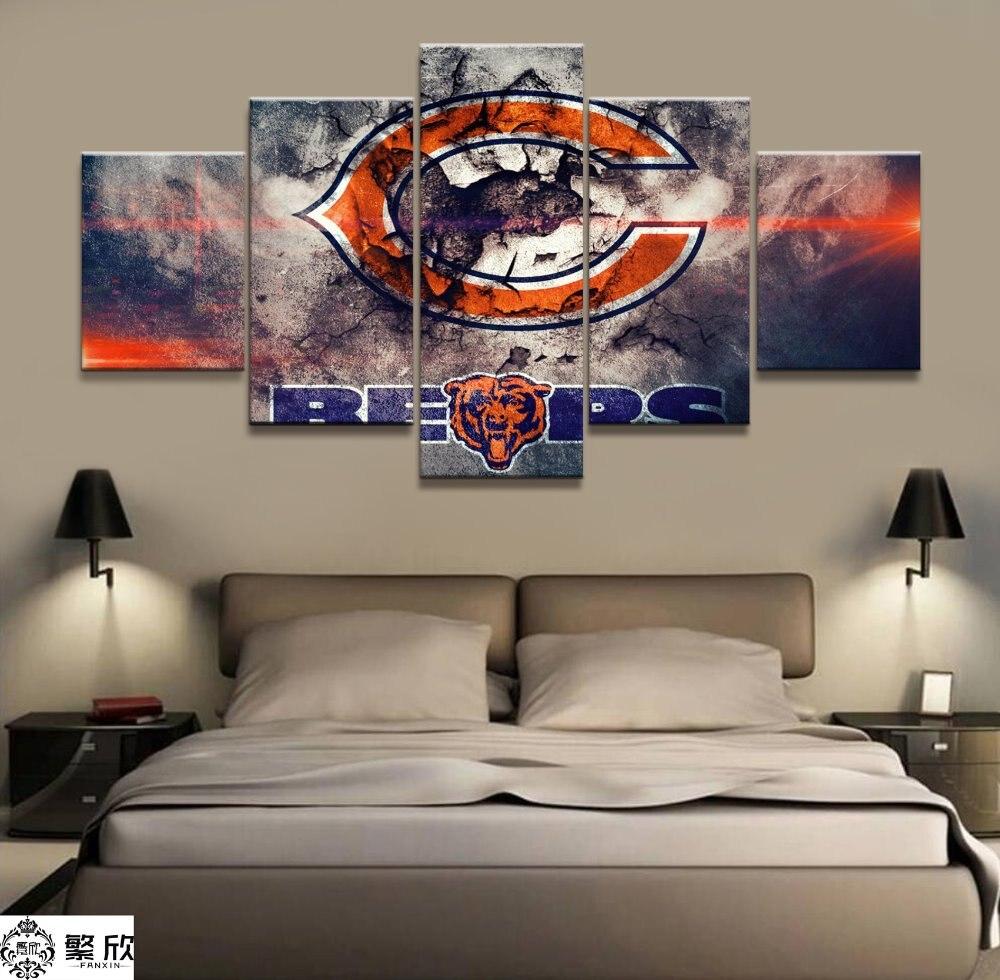 Chicago Bears Wall Art bear artwork promotion-shop for promotional bear artwork on