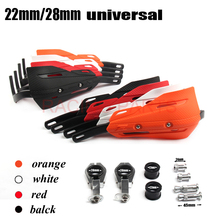 Handguards Hand Protectors with aluminium insert for motocross 7/8 22mm Handlebar 1 1/8  28mm EX EXC SX YZF CRF