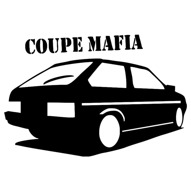 CS-192#13*20cm coupe mafia 2108 funny car sticker and decal silver/black vinyl auto stickers